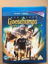 JACK BLACK Goosebumps ~ 2015 RL STINE PELÍCULA DE CULTO/Película RU Blu-Ray