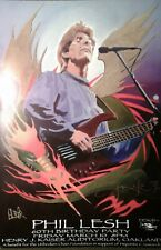 Phil Lesh AUTOGRAPHED 3/1/2000 60th Birthday Stanley Mouse Grateful Dead Poster