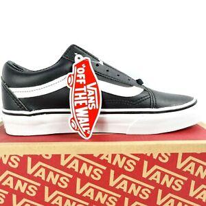 VANS Old Skool Classic Tumble Black White Sneaker Men Size 4 Women Size 5.5 Shoe