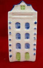 Delft Blue Miniature White House Hand-painted #045021 Decanter Empty NO Cork