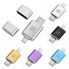 2 In1 Micro SD OTG USB 2.0 Flash Drive Card Reader For Smartphone PC Tablet