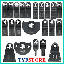 22 Pc Oscillating Multi Tool Saw Blade For Fein Multimaster Bosch Makita Dremel