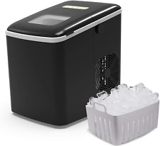 Terra Hiker Ice Maker for Countertop, 9 Ice Cubes Ready in 6 Minutes, 28.7 lbs I