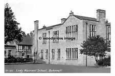 pt7100 - Lady Manners School , Bakewell , Derbyshire - photograph 6x4