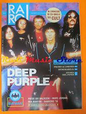 rivista RARO 6/1989 Deep Purple Don Bcky Marc Jordan Mia Martini * No cd