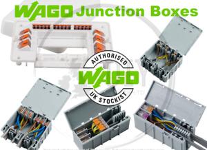 WagoBox Junction Box Enclosure Housing Connectors 222 773 XL XLA Light Grey