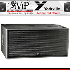 "Yorkville PSA2S Active DJ/Club Dual 15"" Powered Subwoofer Sub 4800W Amplified"