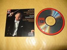 Brahms Symphony No 1 Tennstedt 1984 cd Japan Early Press Excellent condition