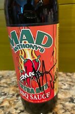 Van Halen Michael Anthony Signed Extra Hot Mad Anthony's Bbq Sauce New, Sealed