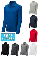 Sport Tek Dri-Fit Performance Long Sleeve Polo