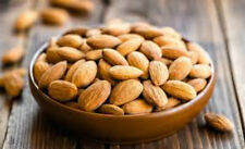 ALMONDS Fresh Bulk Raw Whole Sweet Indian Almond Kernels free shipping.100 GM
