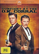 Gunfight At The O.K. Corral - Action / Western - Burt Lancaster - NEW DVD