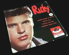 Vinyle 45 tours  Ricky  Nelson Blood from a stone  (1959)