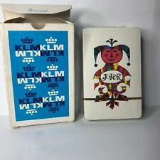 Vintage KLM Airlines Playing Cards Sealed Deck