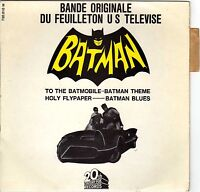 NELSON RIDDLE BATMAN FRENCH ORIG OST TV EP 45 PS 7""