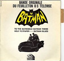 """NELSON RIDDLE BATMAN FRENCH ORIG OST TV EP 45 PS 7"""""""