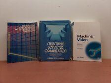 Machine Vision + Structured Computer Organization + Computing Applications -3 Bk