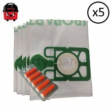 HIGH FILTRATION DUST BAGS for HENRY vacuum cleaner hoover FREE AIR FRESHENERS