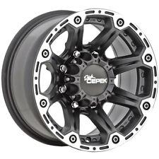 "Dick Cepek Torque 16x8 8x6.5"" +0mm Flat Black Wheel Rim 16"" Inch"