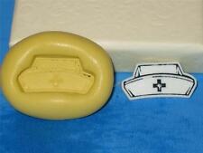 Nurse Hat Silicone Push Mold A397 For Resin Craft Candy Chocolate Fondant