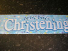 Christening Christening Party Banners, Buntings & Garlands