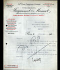 "PARIS (XV°) USINE de MONTE-CHARGE , PERSIENNES ""JAQUEMET & MESNET"" en 1936"