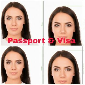 Passport & Visa Photos Printed ANY COUNTRY