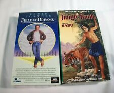 Field Of Dreams VHS Tape, New, + The Jungle Book Starring Sabu VHS Tape