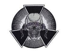 Official Licensed - Megadeth - Skull Burst Embroidered Woven Patch Metal