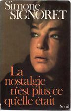 (Livre) Simone Signoret. La nostalgie n'est plus ce qu'elle était (Ref GF172)