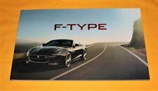 Jaguar F-Type 2014 Prospekt Brochure Depliant Catalog Prospetto Folder 2016