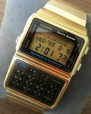 Authentic Vintage Pre-owned Casio DATABANK Gold Color DBC-610 Calculator