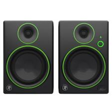 Mackie CR4 ACTIVE STUDIO MONITOR COPPIA DIFFUSORI multimediale nero + PASTIGLIE di isolamento