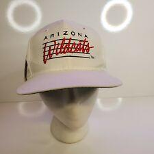 Arizona Wildcats Vintage Snapback Hat NEW OLD STOCK  White Cap