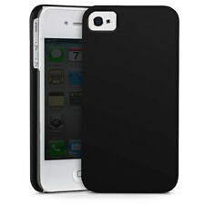 Apple iPhone 4 Premium Case Hülle Cover - Schwarz