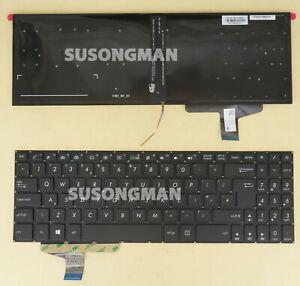 New UK Keyboard For ASUS VivoBook Pro 15 N580 N580GD N580VN N580VD backlit