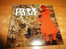 FEMME FATALE CD ALBUM PROMO CARTON DEL AÑO 2006 CONTIENE 10 TEMAS