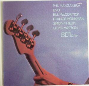 "LP de ENO/MANZANERA/McCORMICK ""801 Live"" 1976 Polydor france"