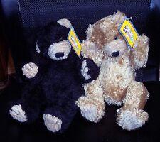 HTF 2 First & Main Menagerie FRAC & Fric Plush Bear Huggy Lovey With Hangtag EUC