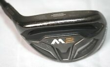 TaylorMade M2 2016 19 degree 3 Hybrid with M2 REAX 75 stiff shaft - LEFT HANDED