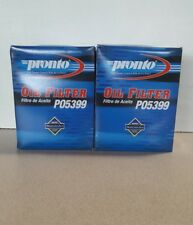 Lot of 2 Engine Oil Filters Pronto PO5399 replaces PF2232, LFP2999, PH9100,57202