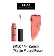 Authentic NYX Soft Matte Lip Cream - SMLC 14 Zurich (matte Muted Rose)