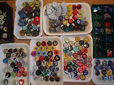 LOTE de 70 CHAPAS DIFERENTES de bebidas DE ESPAÑA SOLO. Usadas tapón corona cap