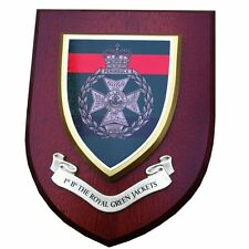 1 bn RGJ Royal Green Jackets Wall Plaque Regimental Military