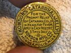 Kondon's Catarrhal Jelly Vintage Medicine Tin, Minneapolis, Minn.