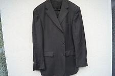 edle EDUARD DRESSLER Herren Men Sakko Jacke Blazer Anzug Gr.52 schwarz gestreift