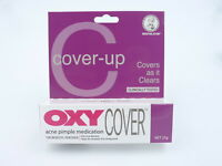 OXY Cover Acne Pimple Cream/Medication 10%Benzoyl Peroxide Concealer CoverUp 25g