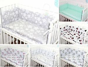 6 TLG- BABY SET mit Bettwäsche für  Beistellbett 40x90cm Nestchen Spannbettlaken