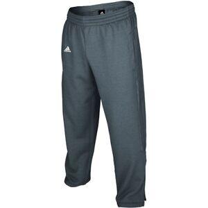 Adidas Women NEW Ultimate Tech Fleece Capri Pants Gray Heather 30'' Inseam