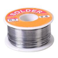 0.8mm 63/37 2% Tin Lead Rosin Core Solder Flux Soldering Welding Iron Wire Reel